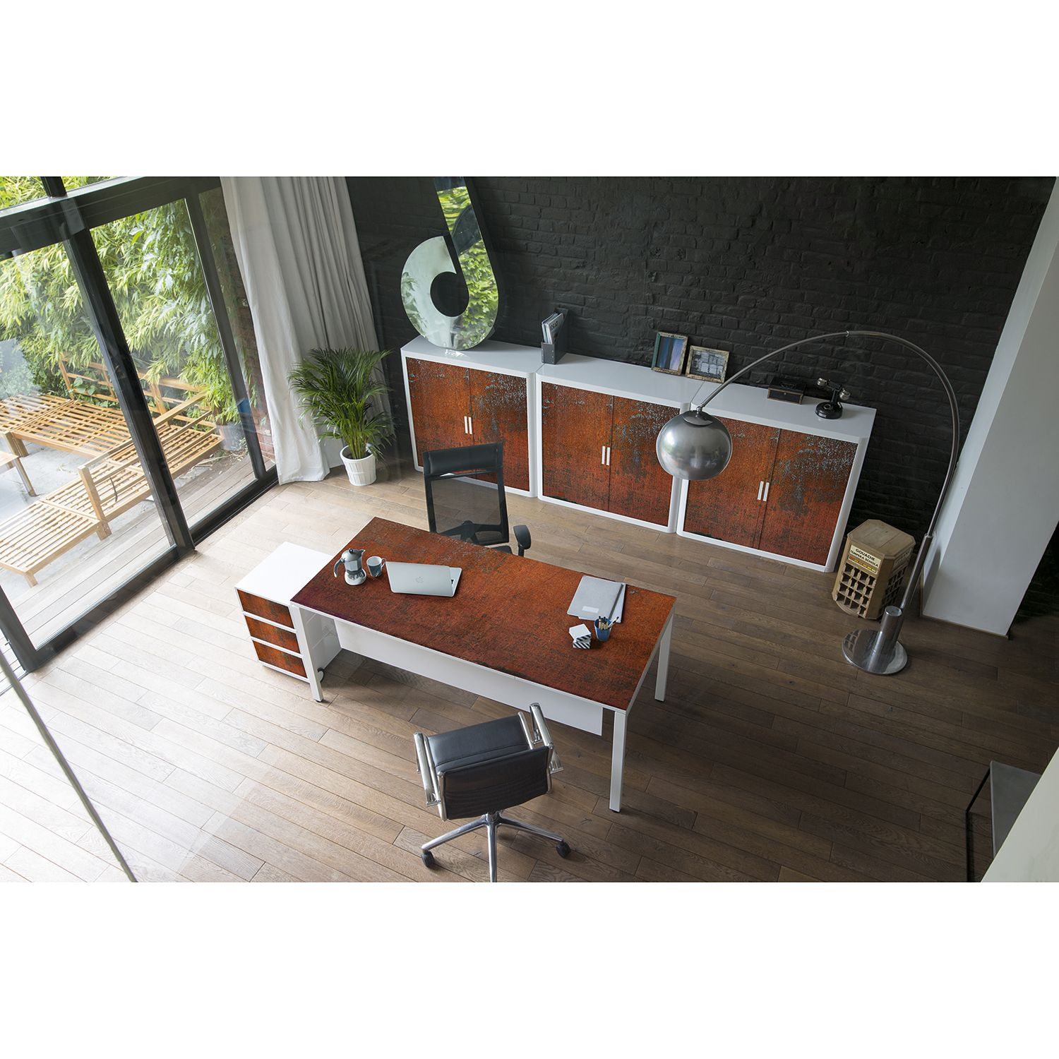 Bureau easyDesk Industrial I, easyOffice by Paperflow