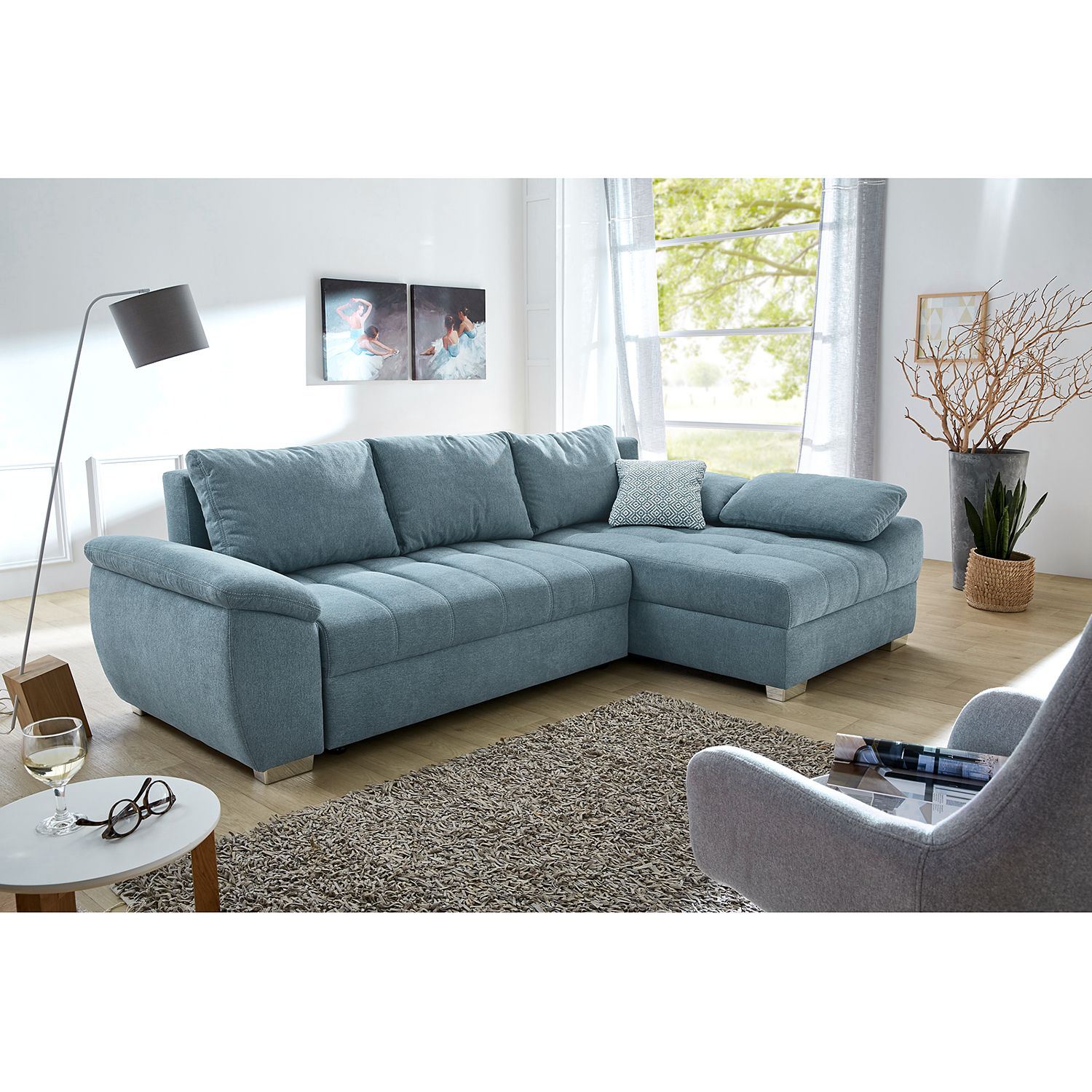 home24 Ecksofa Barraba