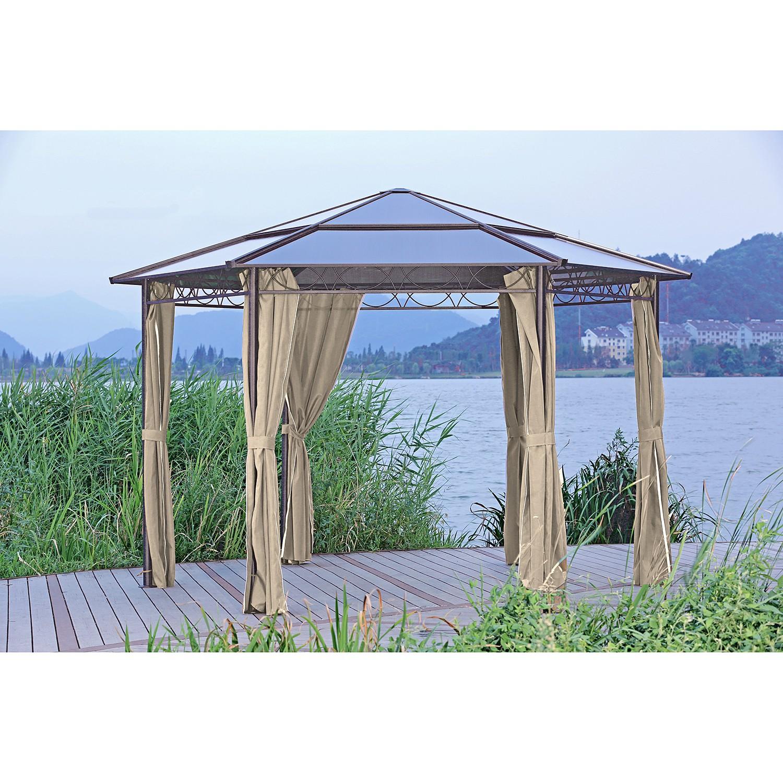 home24 Pavillon Salmon | Garten > Pavillons | Beige | Garden Pleasure