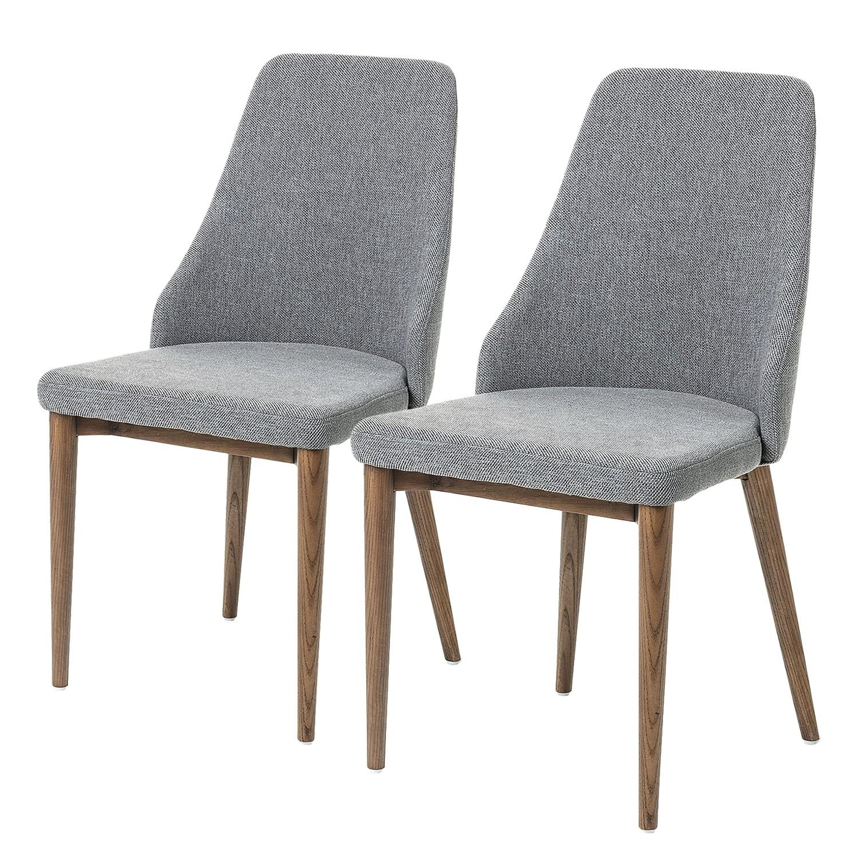 Home24 Gestoffeerde stoelen Rosie (set van 2), Norrwood
