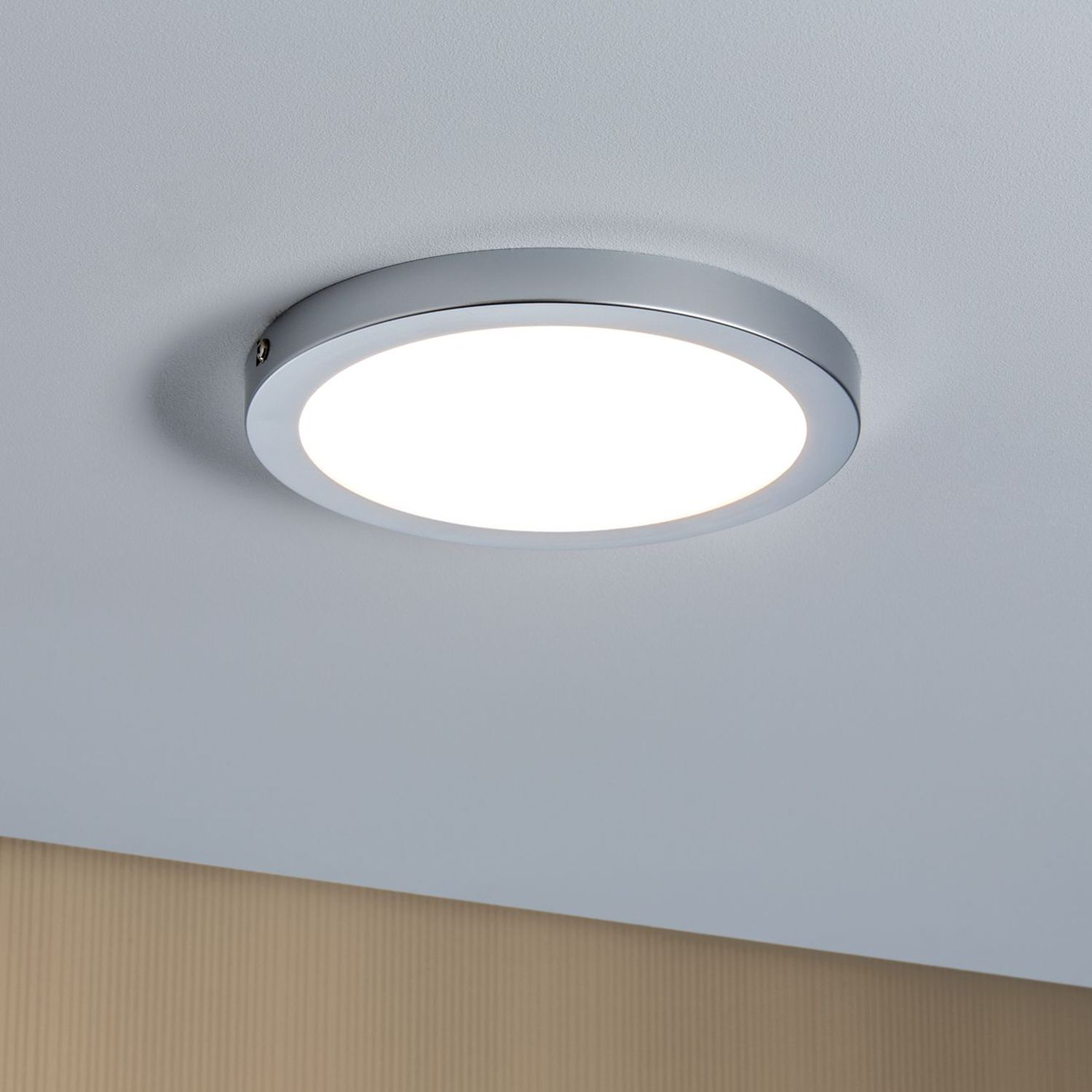 home24 LED-Deckenleuchte Panel I