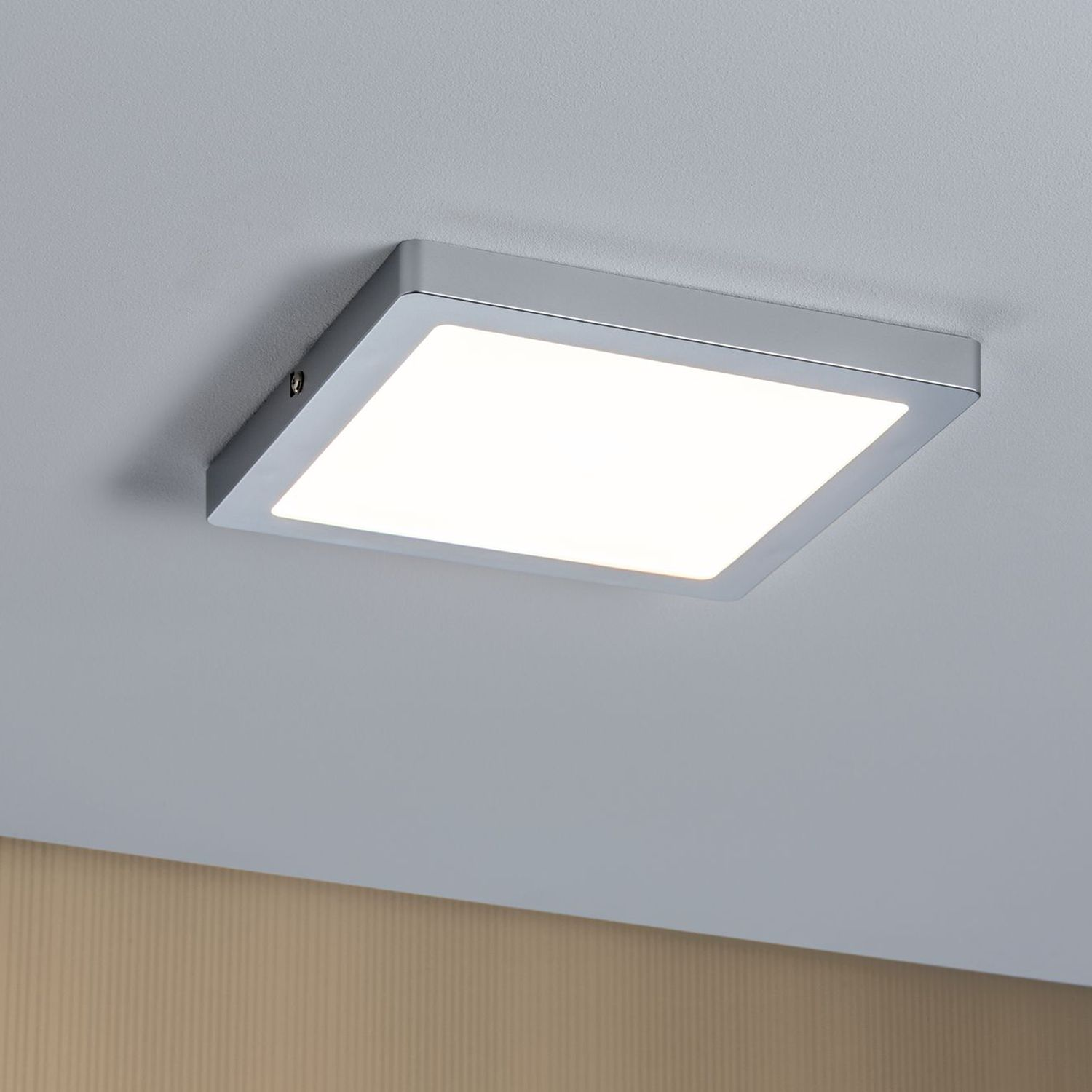 home24 LED-Deckenleuchte Panel III