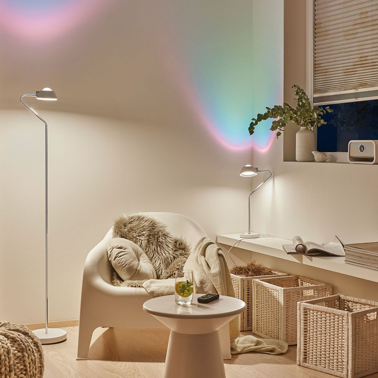 home24 LED-Stehleuchte Ramos I