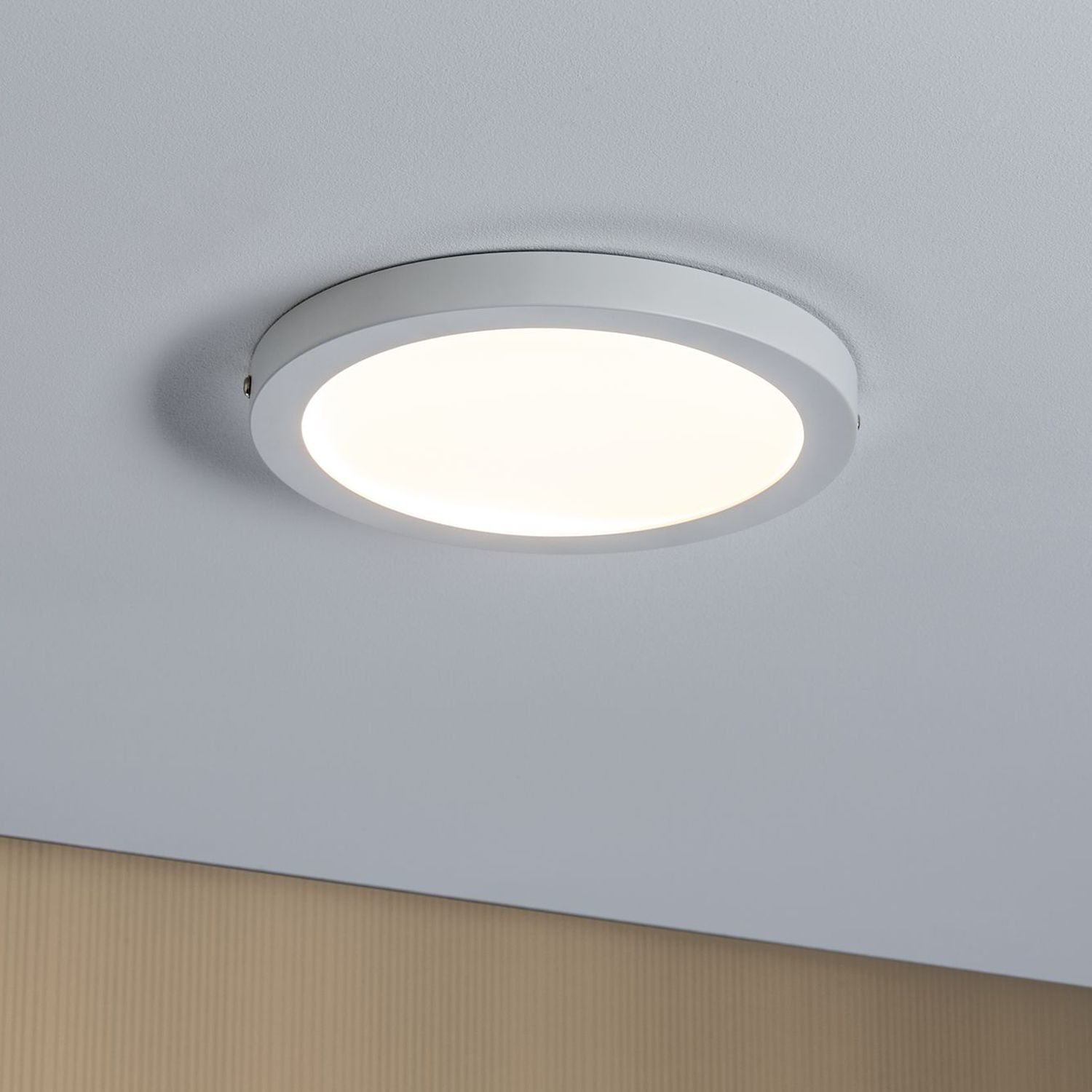 home24 LED-Deckenleuchte Panel V