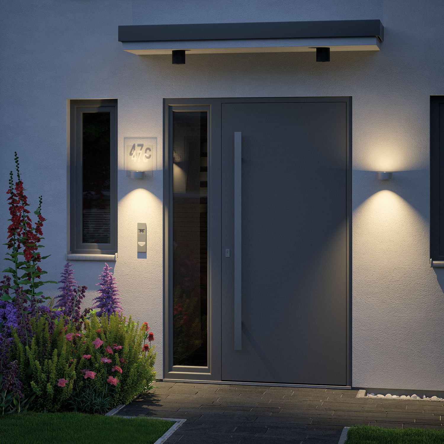 home24 LED-Wandleuchte House I