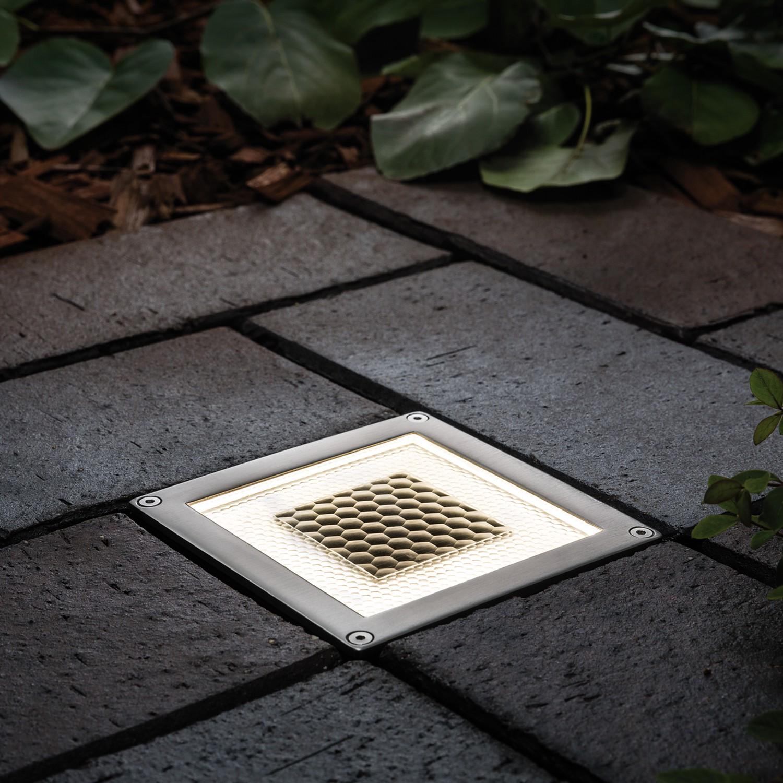 home24 LED-Wegeleuchte Solar Cube