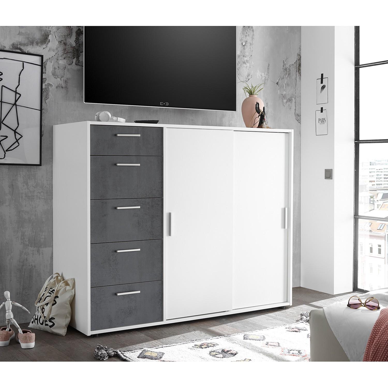 Schlafzimmermöbel - Kommode Tilst III - loftscape - Weiss