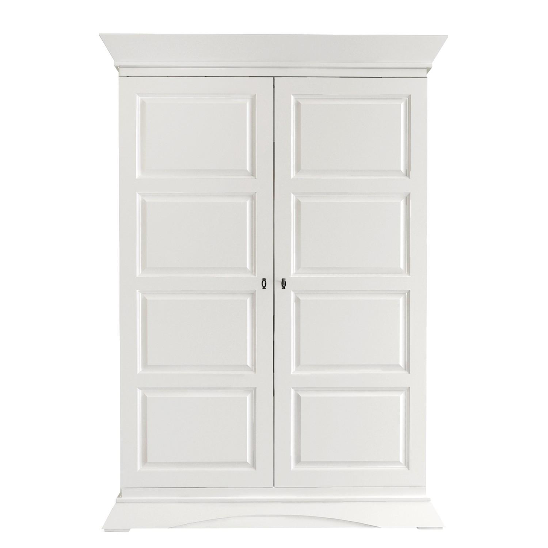 home24 Garderobenschrank Raustad | Flur & Diele > Garderoben > Garderobenschränke | Weiss | Ridgevalley
