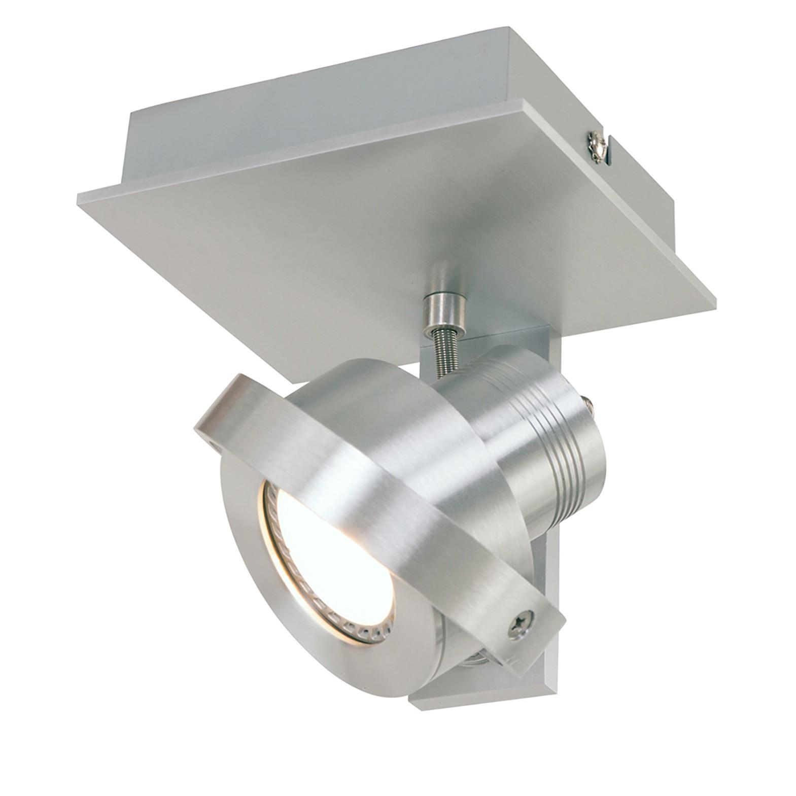 home24 LED-Wandleuchte Quatro