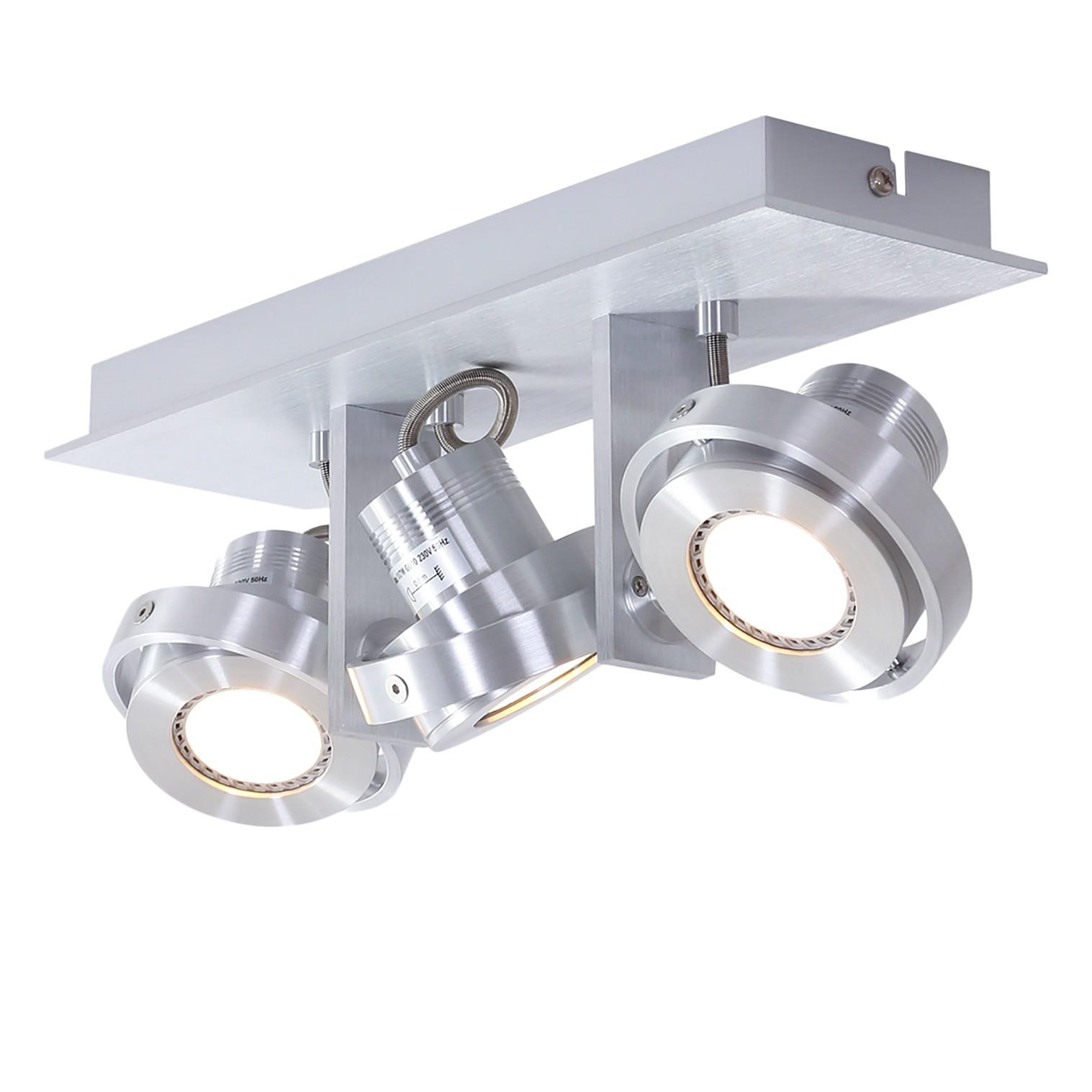 home24 LED-Deckenleuchte Quatro I