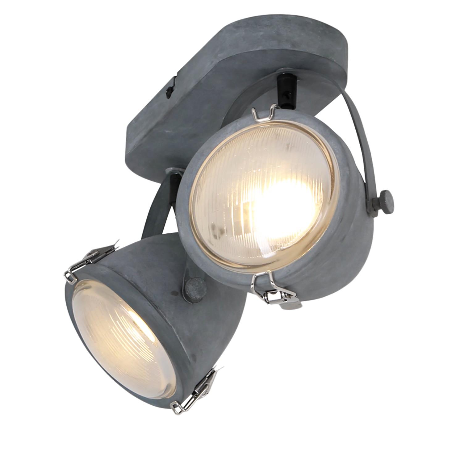 home24 LED-Deckenleuchte Mexlite
