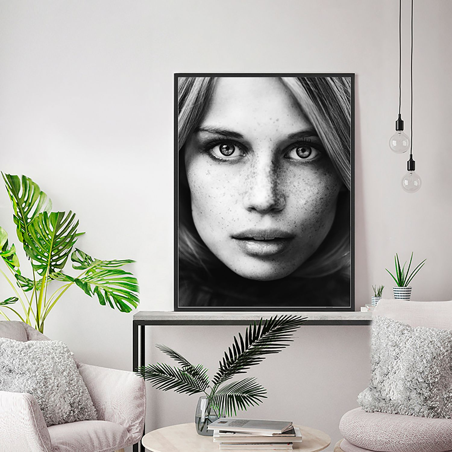 Bild Portrait of a Young Model, Any Image