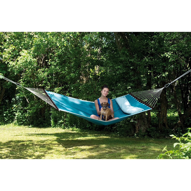 home24 Stabhaengematte Dream | Garten > Hängematten | Blau | amazonas