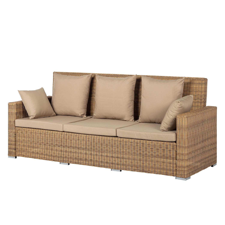 "*NEU*: Lounge-Sofa ""Calla Millor"" aus Lloyd-Loom, braun"