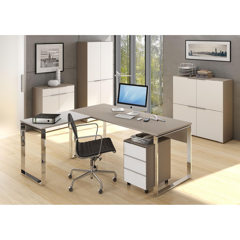 home24 Aktenschrank YAS V | Büro > Büroschränke > Aktenschränke | Weiss | Maja Moebel