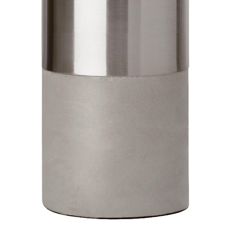 Led-tischleuchte Athen Kaufen - Eisen / Beton 1-flammig Silber