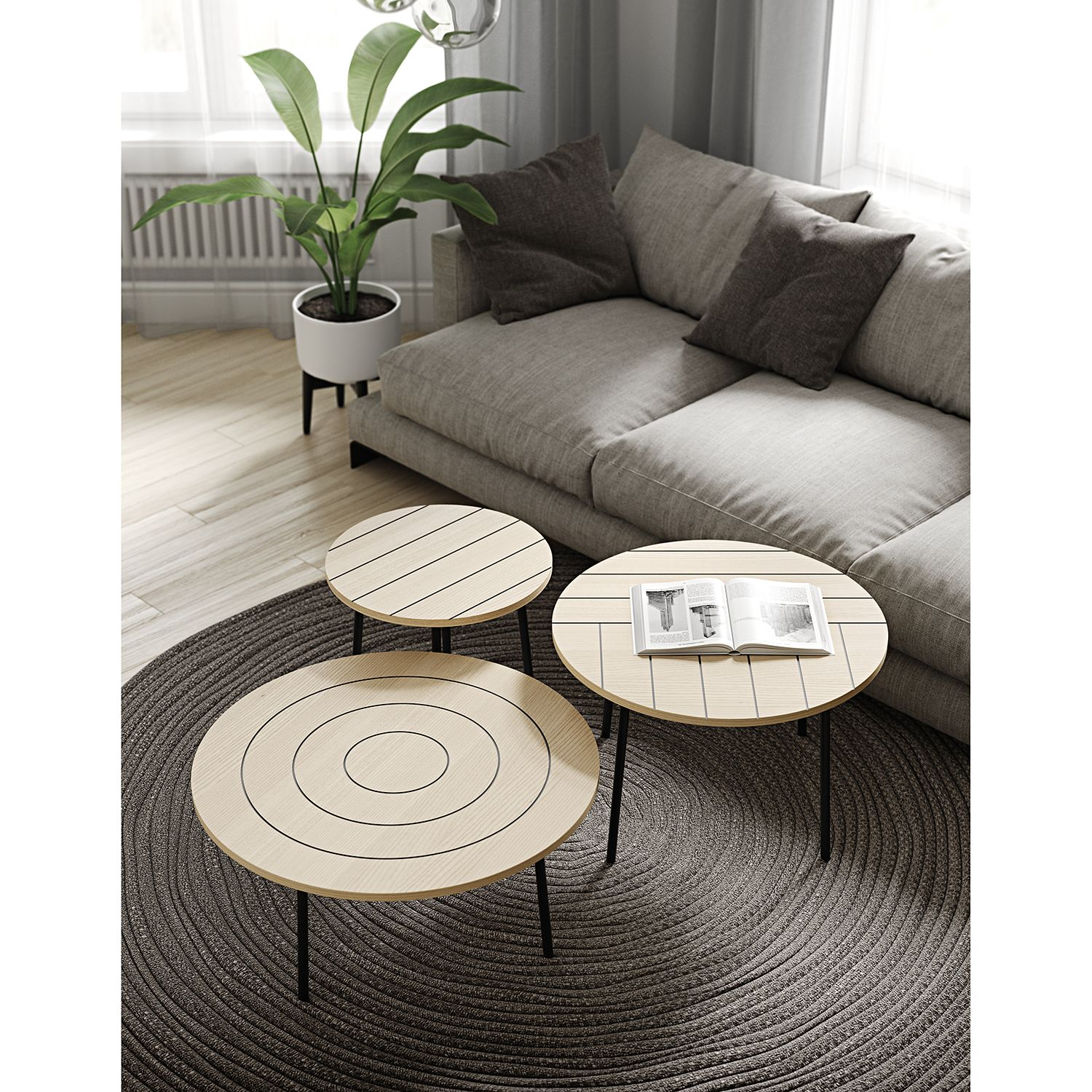 home24 Couchtisch Ply