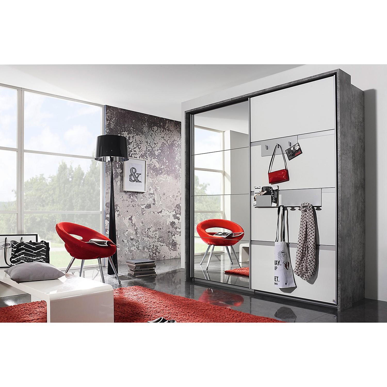 Schlafzimmermöbel - Schwebetuerenschrank Steinheim I - Rauch Pack´s - Grau