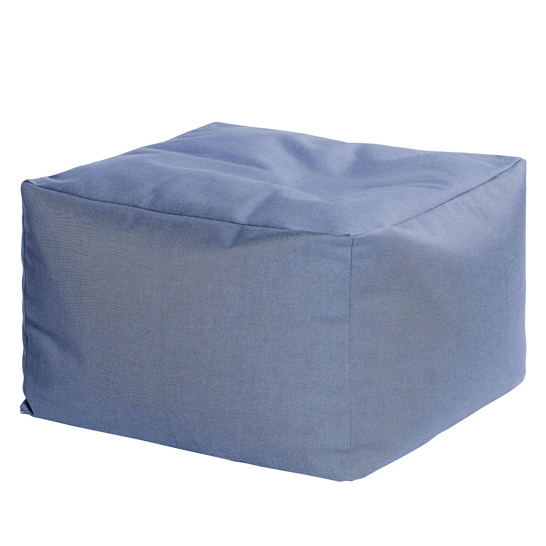 "*NEU*: Garten-Pouf ""Loft"" aus Polyacryl, blau"