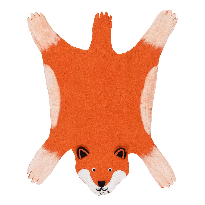 home24 Filzteppich Foxy Fox
