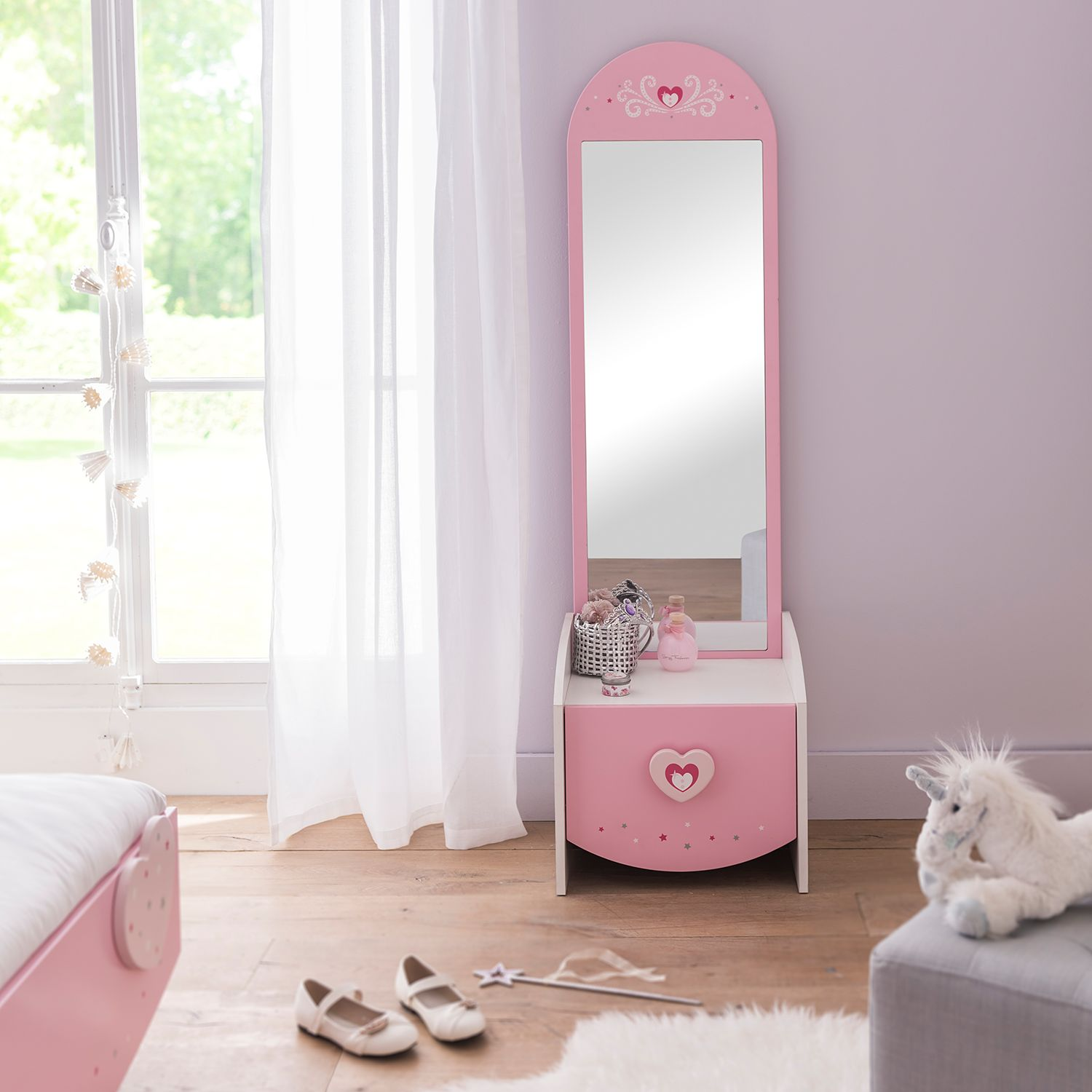 Home24 Make-up tafel Anastasia, Kids Club Collection