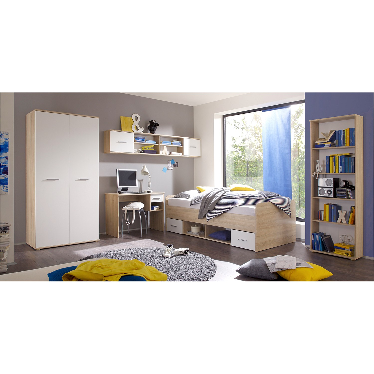 home24 Kinderzimmerset Nanu (4-teilig) | Kinderzimmer > Komplett-Kinderzimmer | Kids Club Collection