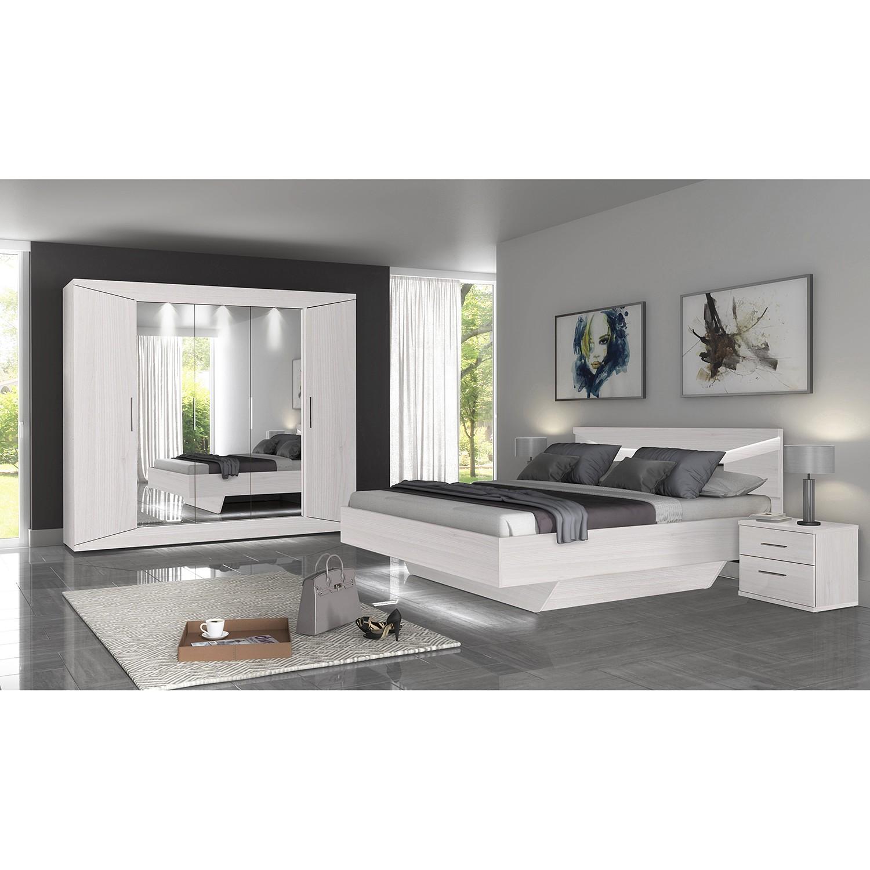 Schlafzimmermöbel - Bettkasten Vinstra - loftscape - Weiss