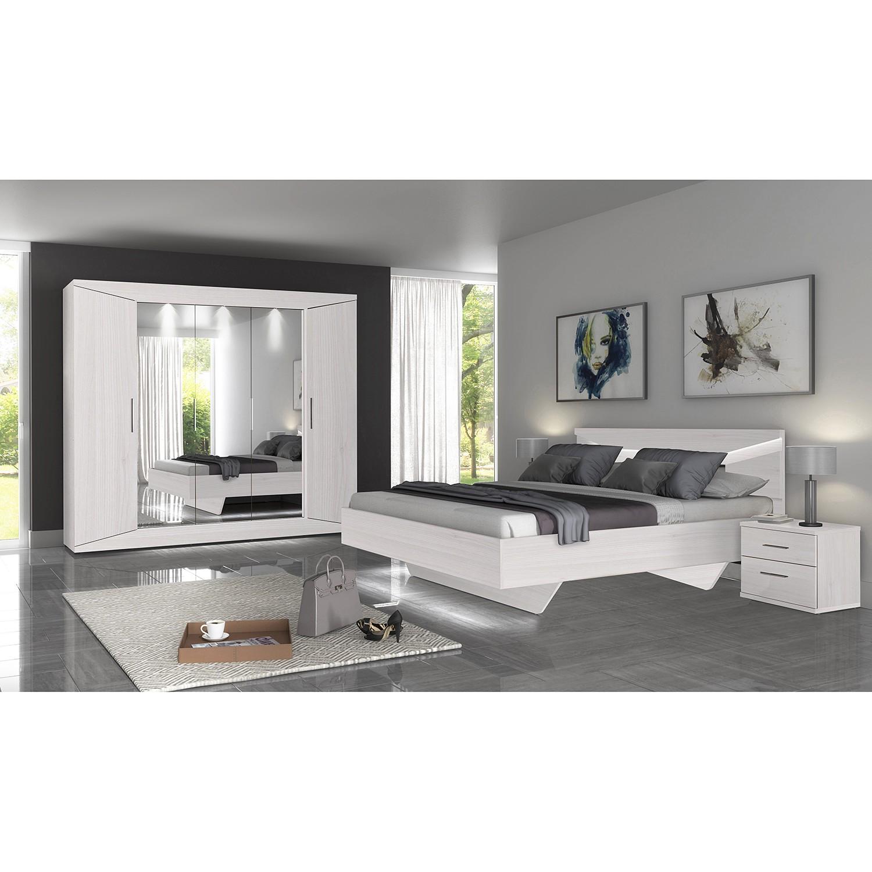 Schlafzimmermöbel - Nachtkommode Vinstra - loftscape - Weiss