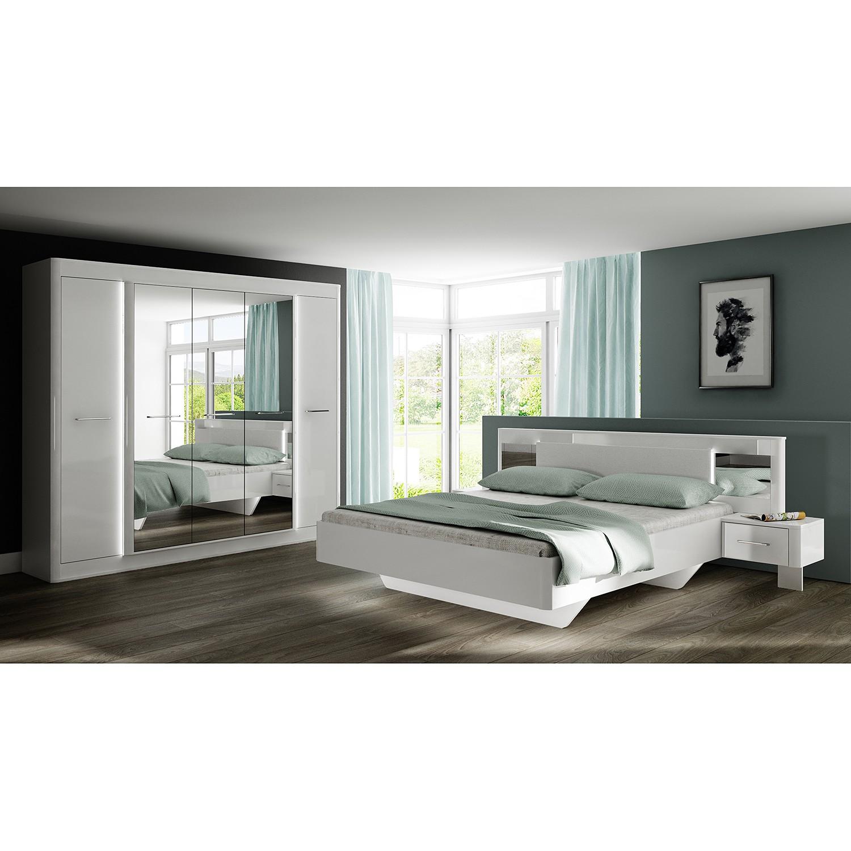 Schlafzimmermöbel - Bettanlage Tromoy - loftscape - Weiss