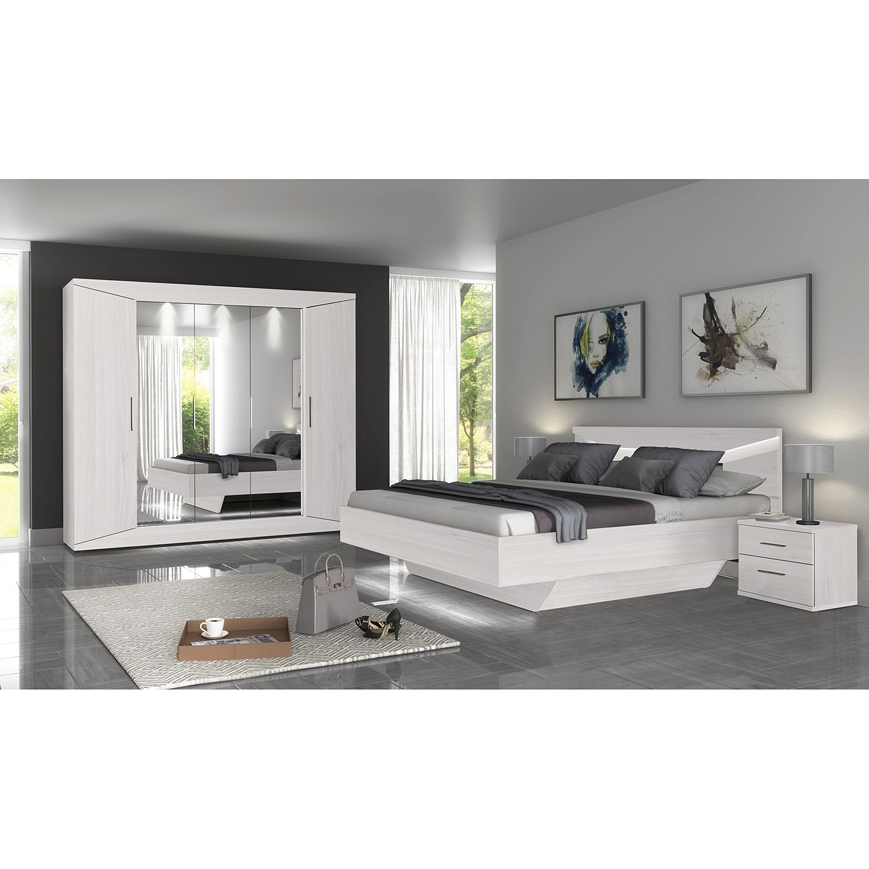 Schlafzimmermöbel - Schlafzimmerset Vinstra (6-teilig) - loftscape - Weiss