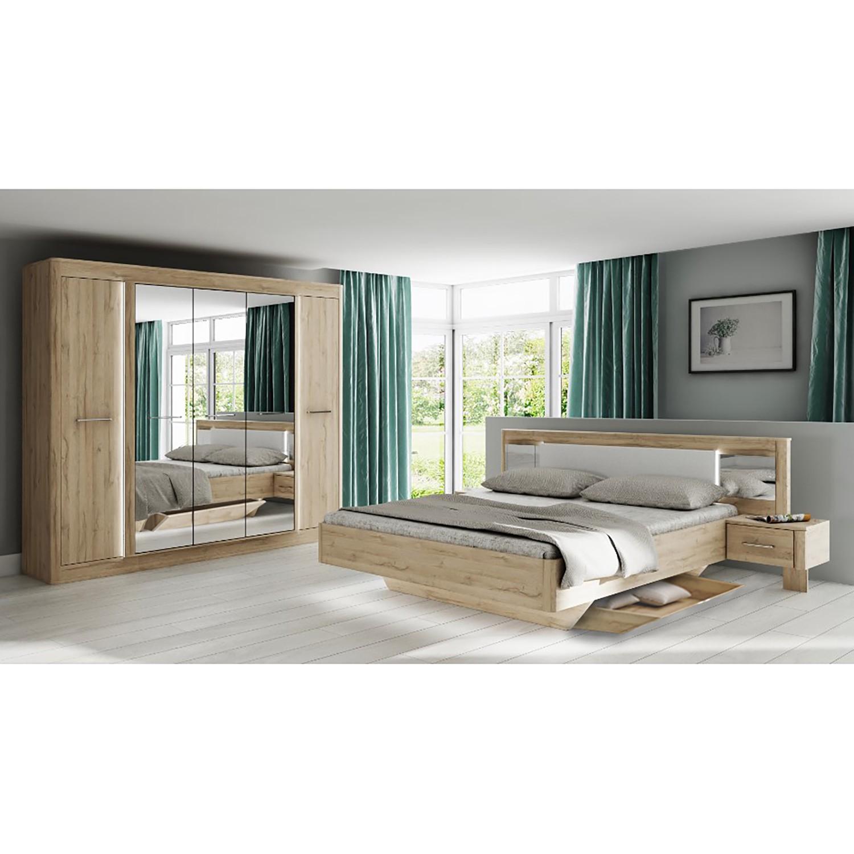 Schlafzimmermöbel - Schlafzimmerset Tromoy (4-teilig) - loftscape - Braun