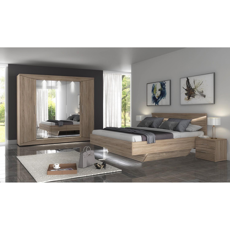 home24 Schlafzimmerset Vinstra (6-teilig)