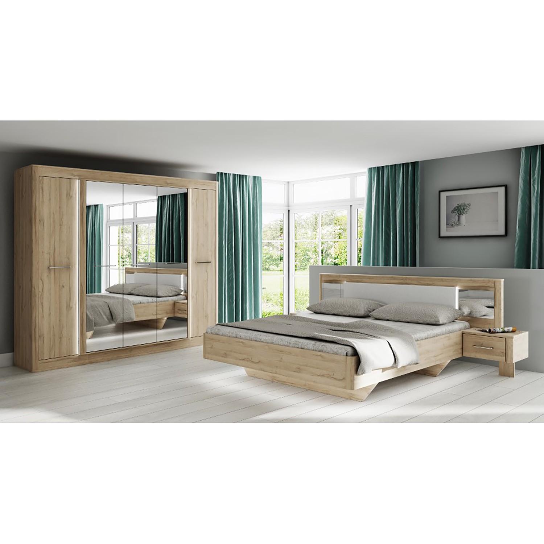 Schlafzimmermöbel - Schlafzimmerset Tromoy (2-teilig) - loftscape - Braun