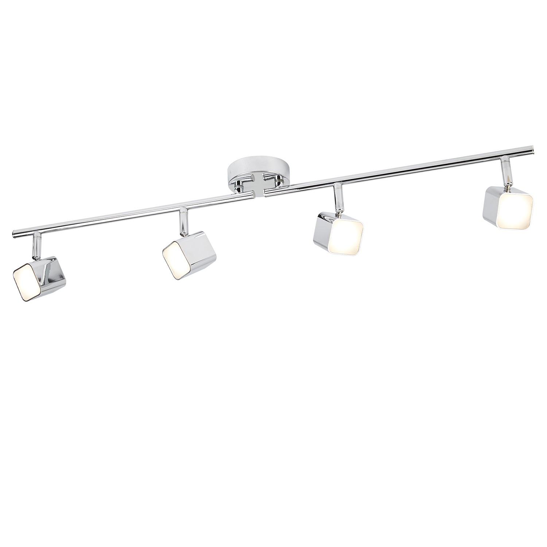 home24 LED-Deckenleuchte Quad I
