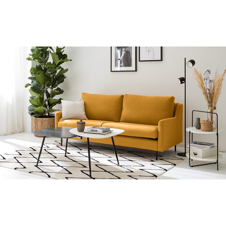 Fredriks Sofa Kenten I 2-Sitzer Gelb Webstoff 191x87x82 cm