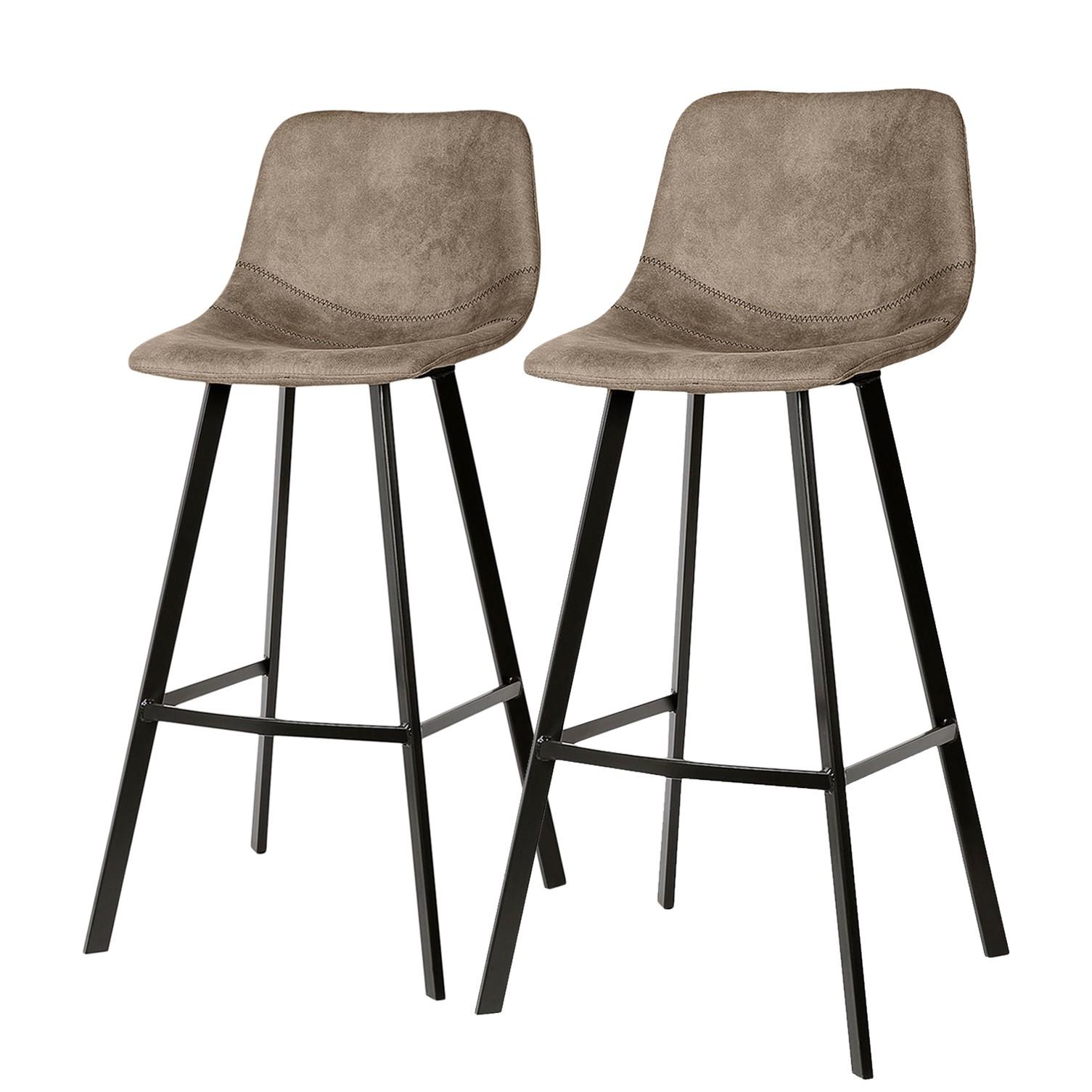 home24 Barstuhl Luhi (2er-Set) | Küche und Esszimmer > Bar-Möbel | ars manufacti