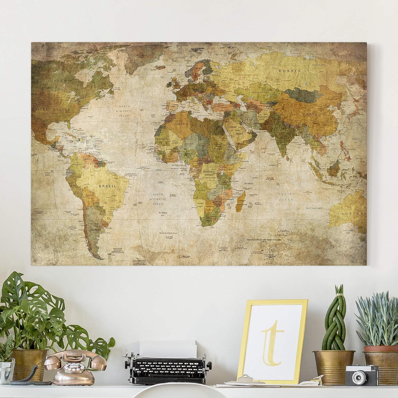Bild Weltkarte, Bilderwelten