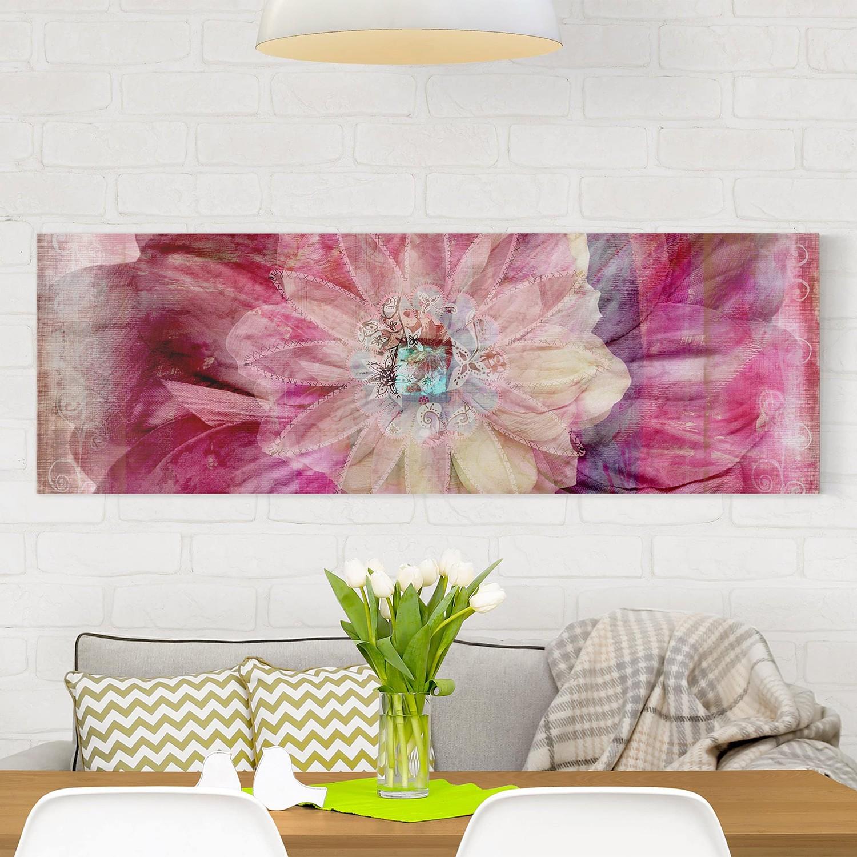 Bild Grunge Flower, Bilderwelten
