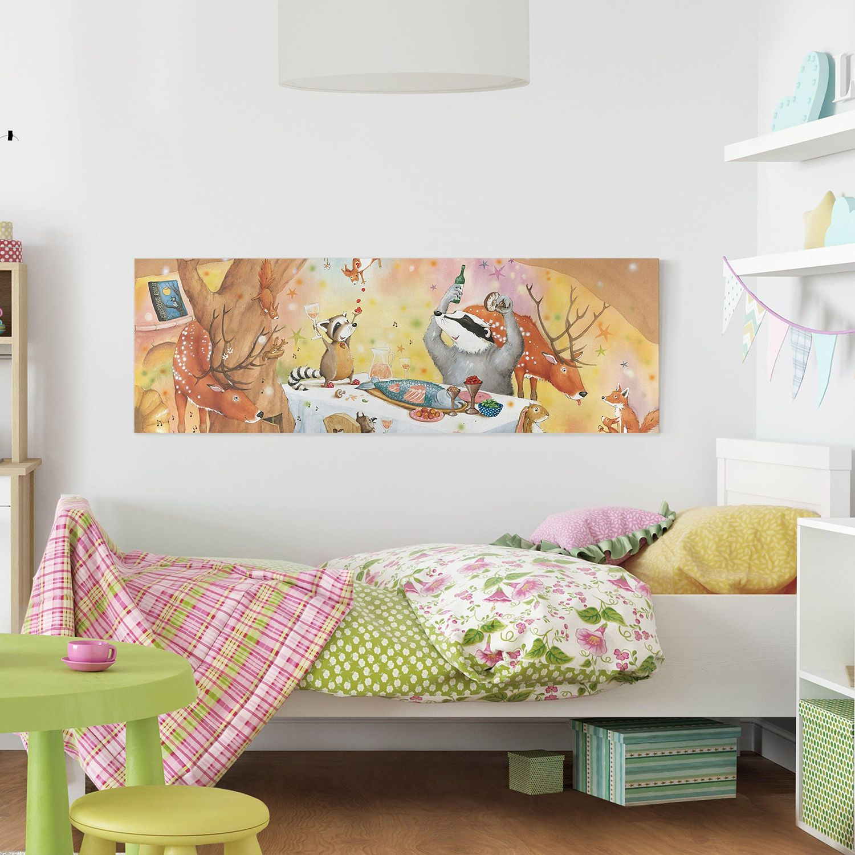 home24 Bild Ein Festmahl fuer Wassili | Dekoration > Bilder und Rahmen > Bilder | home24