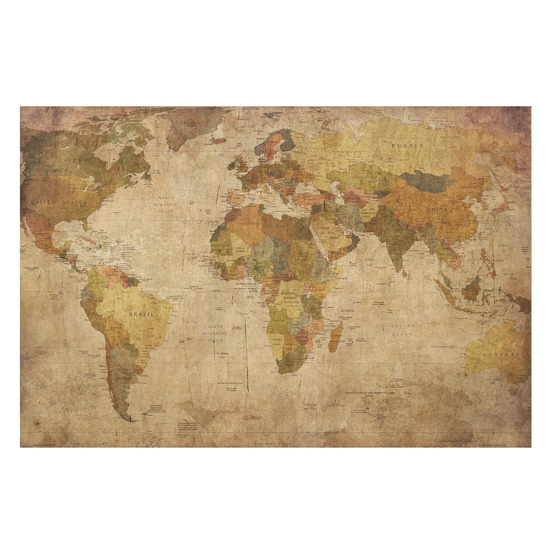 Bild Weltkarte IV, Bilderwelten