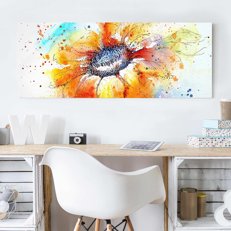 Bild Painted Sunflower I