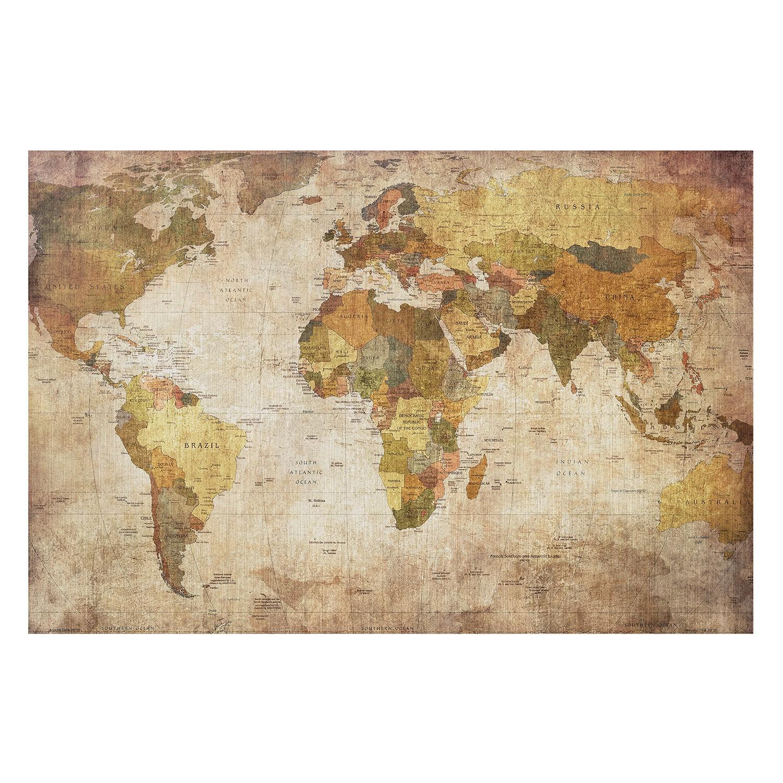 Bild Weltkarte III, Bilderwelten