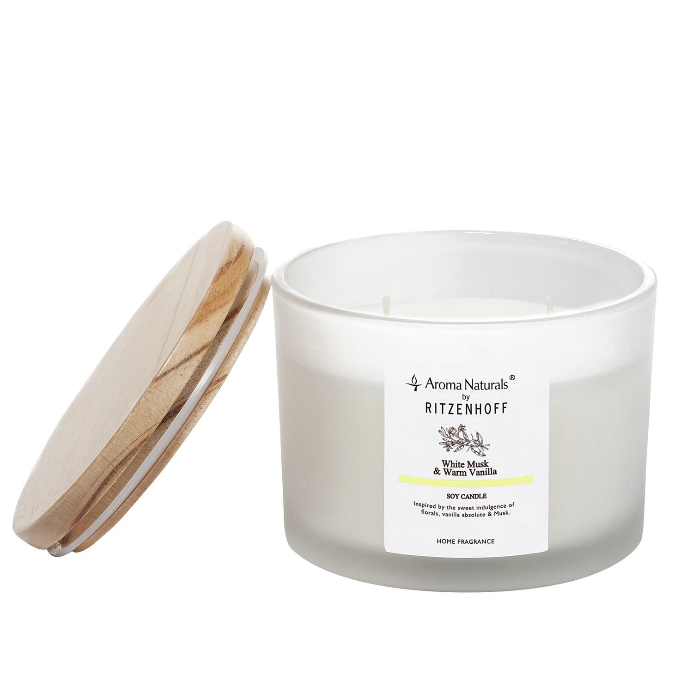 Duftkerze White Musk Warm Vanilla