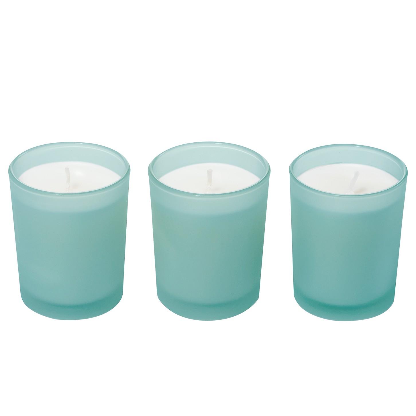 Gesehen: Duftkerzen Coconut Lime 3er-Set Deal