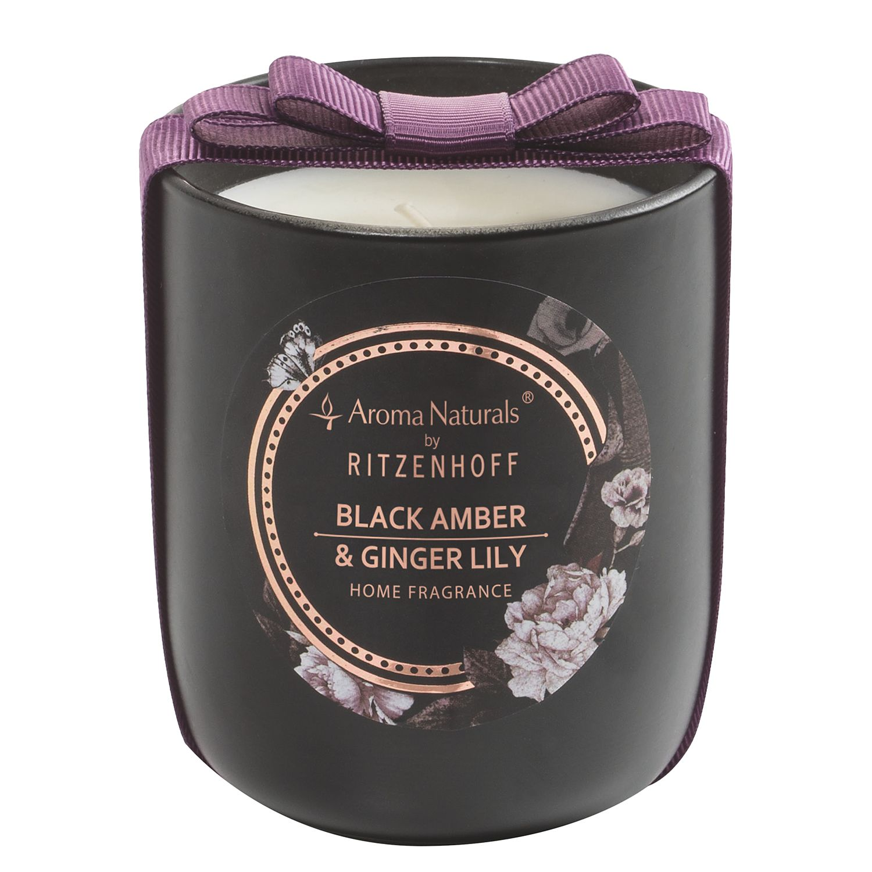 home24 Duftkerze Black Amber und Ginger Lily | Dekoration > Kerzen und Kerzenständer > Kerzen | Ritzenhoff