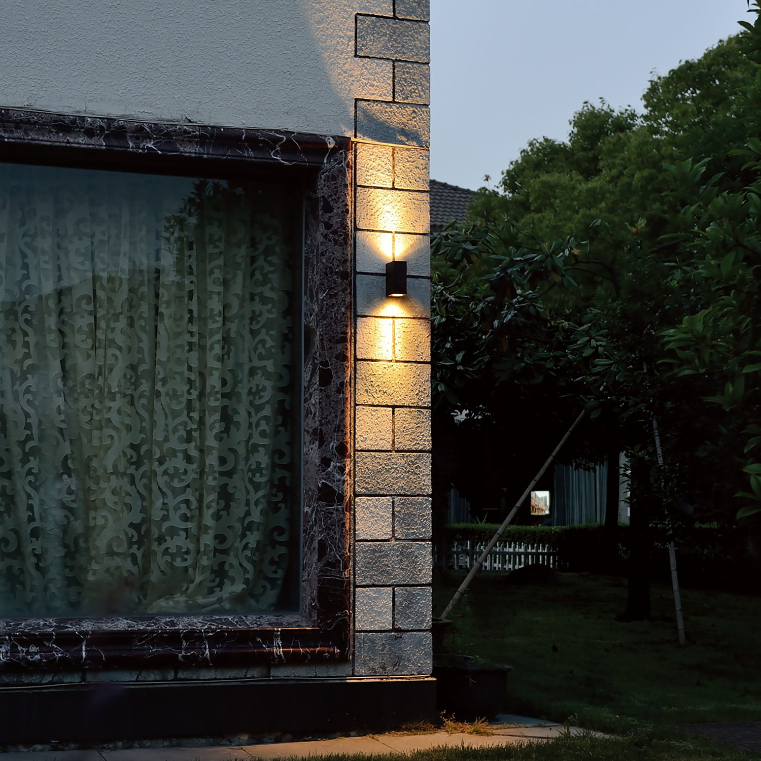 home24 LED-Wandleuchte Outdoor Collection II