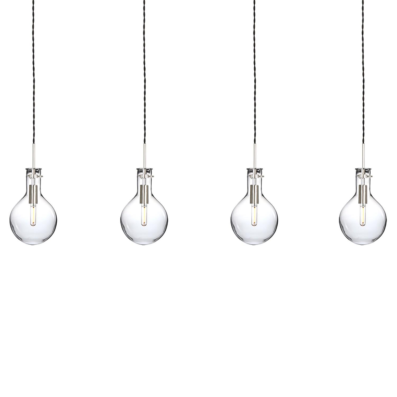 home24 LED-Pendelleuchte Elegance II