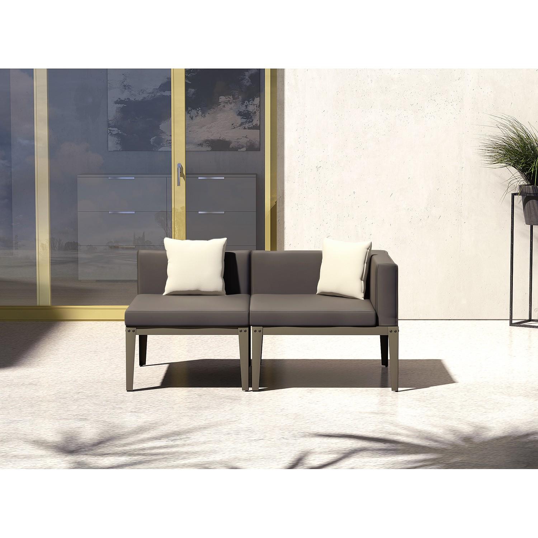 Canapé de jardin Kea I (2 éléments)