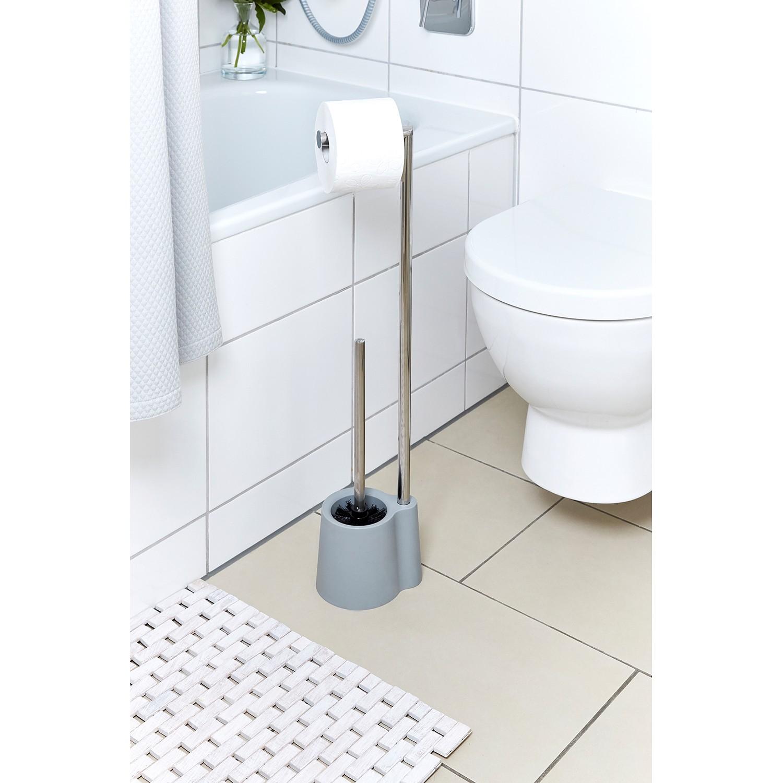 WENKO Ersatzbürste Toilettenbürste Schwarz Ø 8 cm Toilettenbürstenhalter