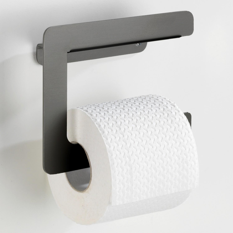 home24 Toilettenpapierhalter Montella | Bad > Bad-Accessoires > Toilettenpapierhalter | Schwarz | Wenko